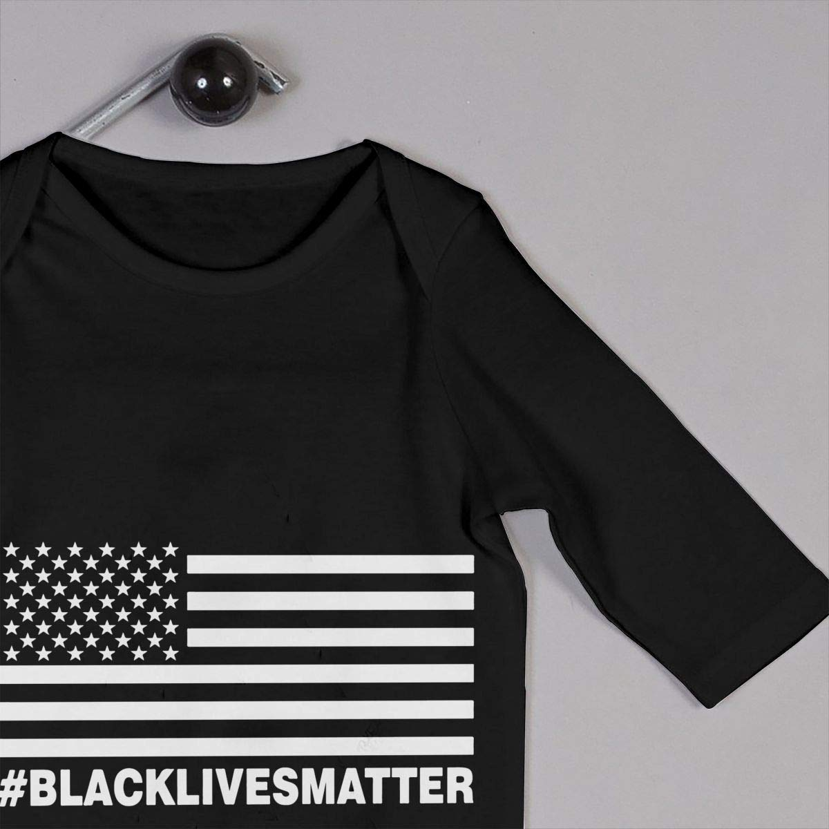 Black Lives Matter Unisex Long Sleeve Baby Gown Baby Bodysuit Unionsuit Footed Pajamas Romper Jumpsuit