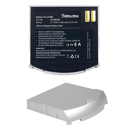 geemarc cl7300  Akku-King batteria per Geemarc CL7300, CL7300AD: : Elettronica
