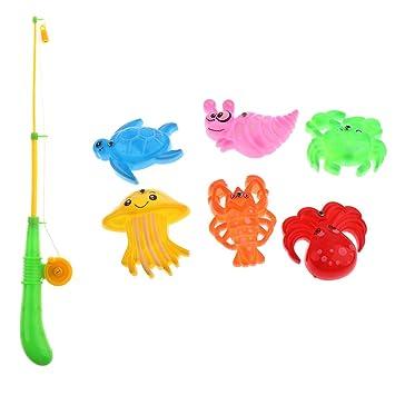32-teilig Angelspiel Angeln Spielset Kinder Badespielzeug Wasserspielzeug