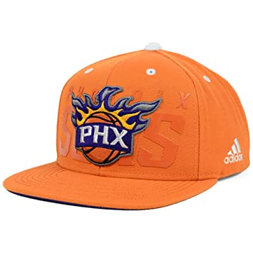 1b72ae194b214 Image Unavailable. Image not available for. Color  Phoenix Suns adidas 2014  NBA Draft Authentic Snapback Hat ...