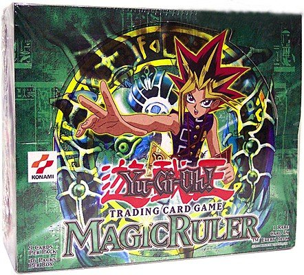 YuGiOh Magic Ruler Spell Ruler 1st Edition Booster Box [36 Count] (Ruler Booster Pack)