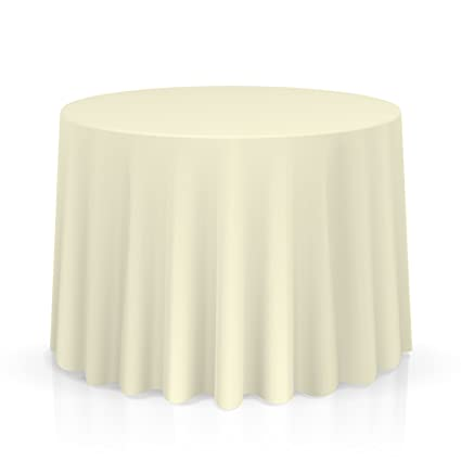 Lannu0027s Linens   10 Premium 90u0026quot; Round Tablecloths For Wedding/Banquet /  Restaurant