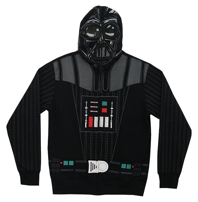 Star Wars - Hombre darth vader costume sudadera negro small: Amazon.es: Ropa y accesorios