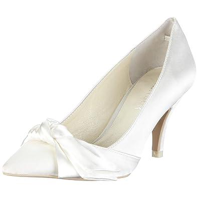MENBUR Damen Schuhe Pumps Hochzeitsschuhe Damen Beige