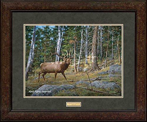 Wild Wings The Prize - Moose GNA Premium+ Framed Print by Jim Killen