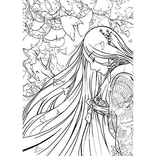 Cuaderno De Dibujo Con Linea De Libro Para Colorear Chino Libro