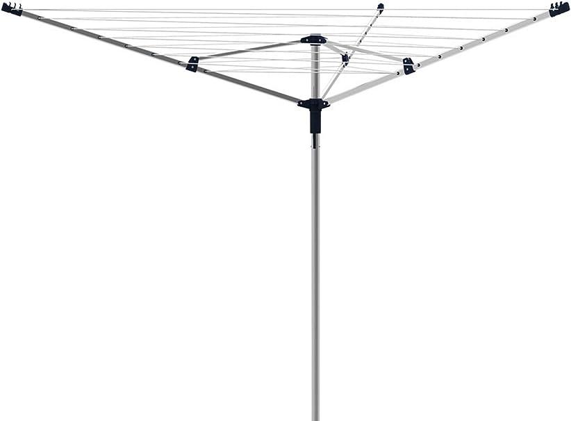 gimi Garden Steel 40 Tendedero de jardín de Acero, 40 m de Longitud de tendido: Amazon.es: Hogar