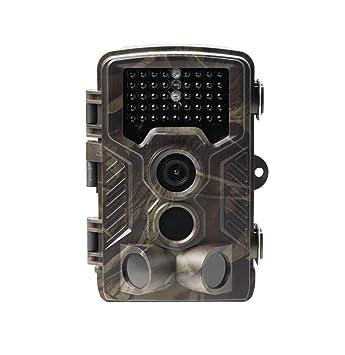 Denver WCM-8010 Cámara de Caza vigilancia, Videocámara de Naturaleza Impermeable, Nocturna, 12Mp 1080p: Amazon.es: Electrónica