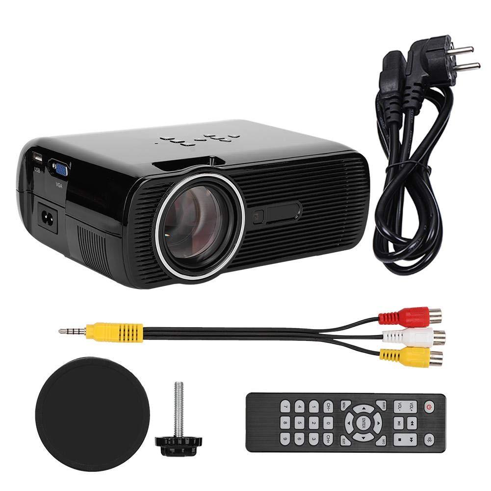 Proyector de vídeo LED, mini proyector de vídeo portátil HD 1080P ...
