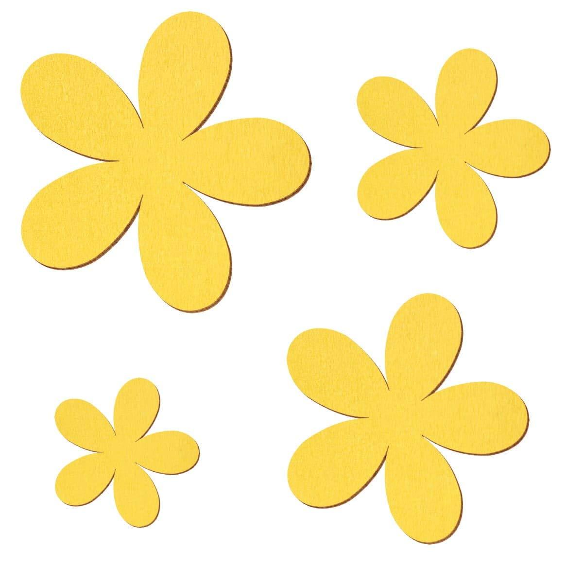 Gelbe Holz Plumeria - 2-10cm Streudeko Basteln Basteln Basteln Deko Tischdeko, Pack mit 100 Stück, Größe 8cm B07NBYRC9B | Die erste Reihe von umfassenden Spezifikationen für Kunden  8f8d34