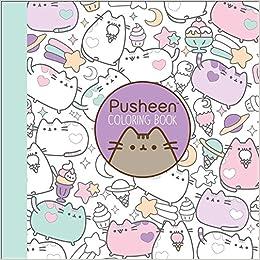 Amazoncom Pusheen Coloring Book 9781501164767 Claire Belton