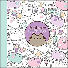 Amazon Com Pusheen Coloring Book A Pusheen Book 9781501164767