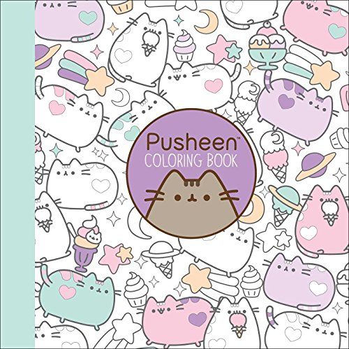 7 Pusheen Coloring Book