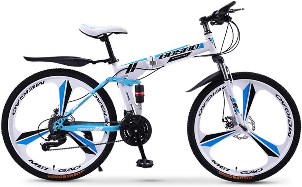 GPAN 24/26 Pulgada Bicicleta de montaña Plegable,24 velocidades ...