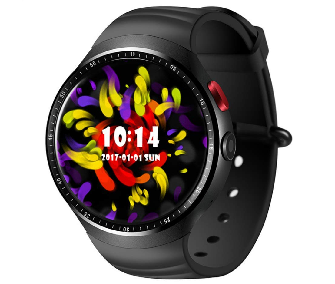 Amazon.com: Smart Watch Android 5.1 Wrist Phone 1GB + 16GB 3G And Bluetooth 4.0 Heart Rate Monitor Smartwatch With 2.0 MP Camera, Pedometer, Vocal Recorder, ...