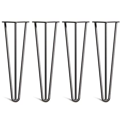 Fantastic Outmoment Hairpin Table Legs 4X Mid Century Modern Style Camellatalisay Diy Chair Ideas Camellatalisaycom