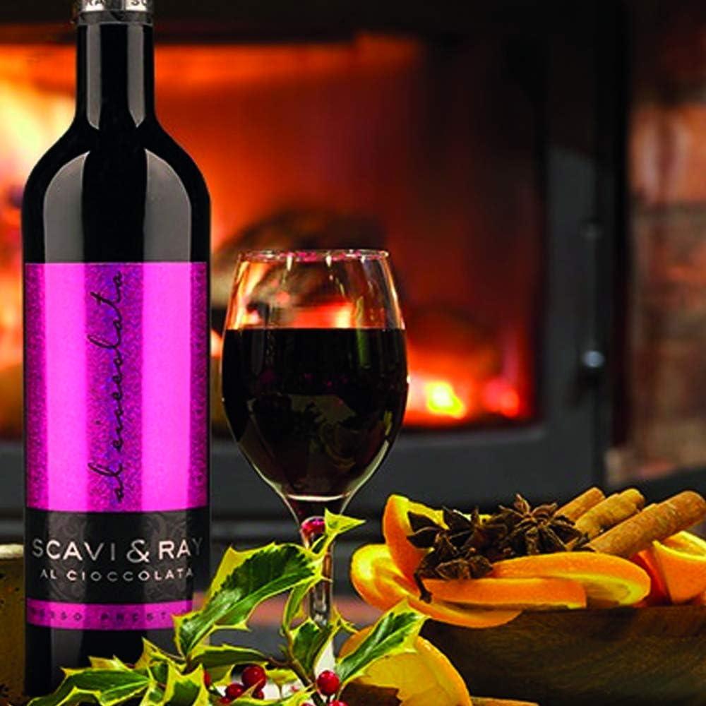 Scavi Ray Rosso Prestigio Al Cioccolato 75cl 10 Abv Red Wine Cuvee Chocolate Wine Amazon Co Uk Grocery