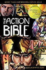 Here's the most complete picture Bible ever! And it features a captivating, up-to-date artwork style—making it the perfect Bible for today's visually focused culture.               The Action Bible presents 215 fast-paced narra...