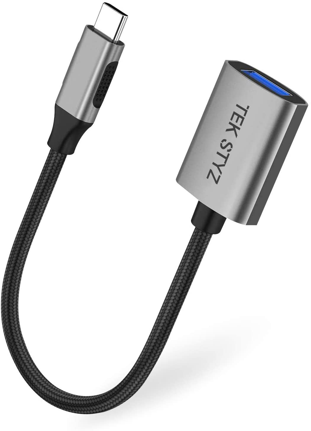 Tek Styz OTG to USB Works for Samsung Galaxy Tab 4 7.0 with Full Speed On-The-Go Power White