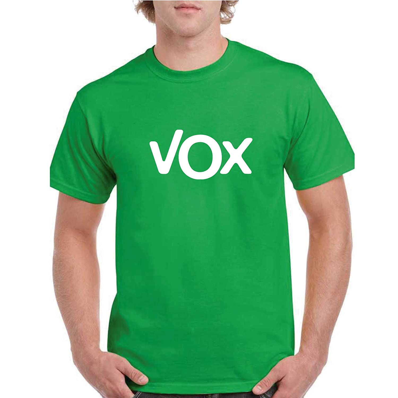 Espa/ña Negra, 2XL Custom Vinyl Camiseta Vox a Elegir