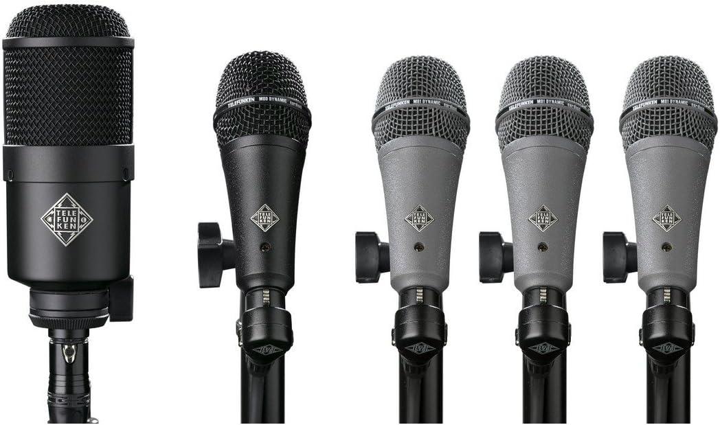 Telefunken DD5 | Dynamic Drum Microphone Pack