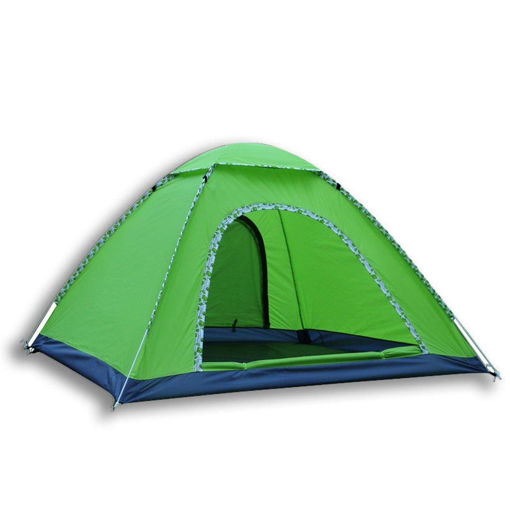 自動的にオープンテント、多くの防空雨テントシェルターキャンプ、釣り場、ビルドする必要はありません(サイズ:78 * 78 * 51インチ)  C B07CR5HLK8
