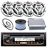 Best JVC Amps For Cars - JVC KD-R97MBS Marine Boat Yacht Radio Stereo CD Review
