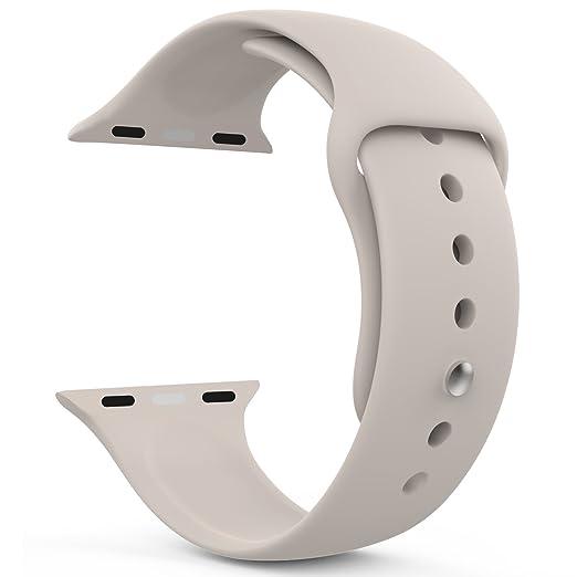 12 opinioni per MoKo Cinturino per Apple Watch 42mm, Morbido Braccialetto di Ricambio in