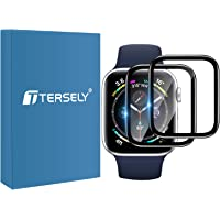 T Tersely[2 Pack][PET + PMMA ] Screen Protector for Apple Watch 4/5/6/SE-40MM, Scratch Resistant Premium High Sensitive…