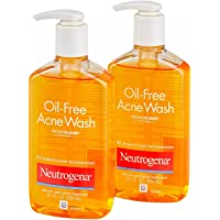 Neutrogena Oil-Free Acne Fighting Face Wash, 9.1 Fluid Ounce (Pack of 2)