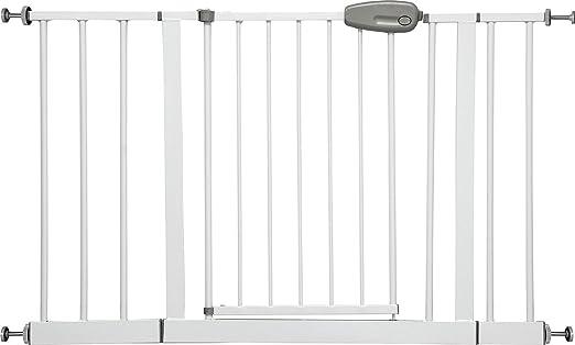 """54 opinioni per IB-Style- Cancello di sicurezza """"Megane"""" bianco/grigio 74- regolabile con"""