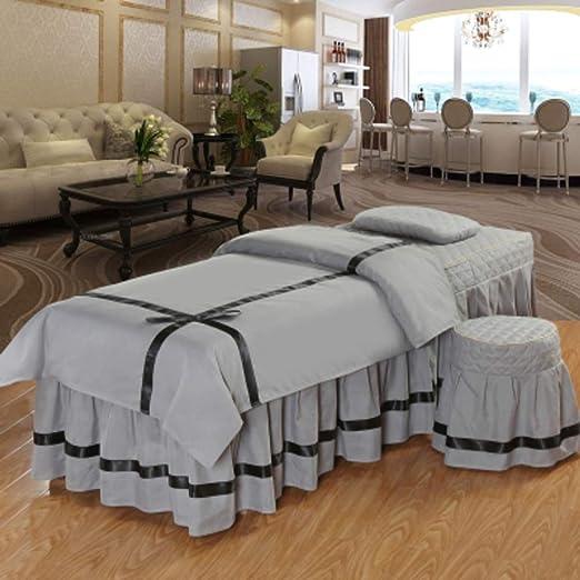 AMY Color sólido Juego de sábanas para Camilla de Masaje, Premium ...
