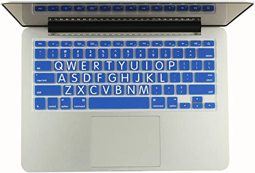 """Extra Bold Large Print PINK Silicone Keyboard Cover for Macbook 13/"""" 15/"""" 17/"""""""