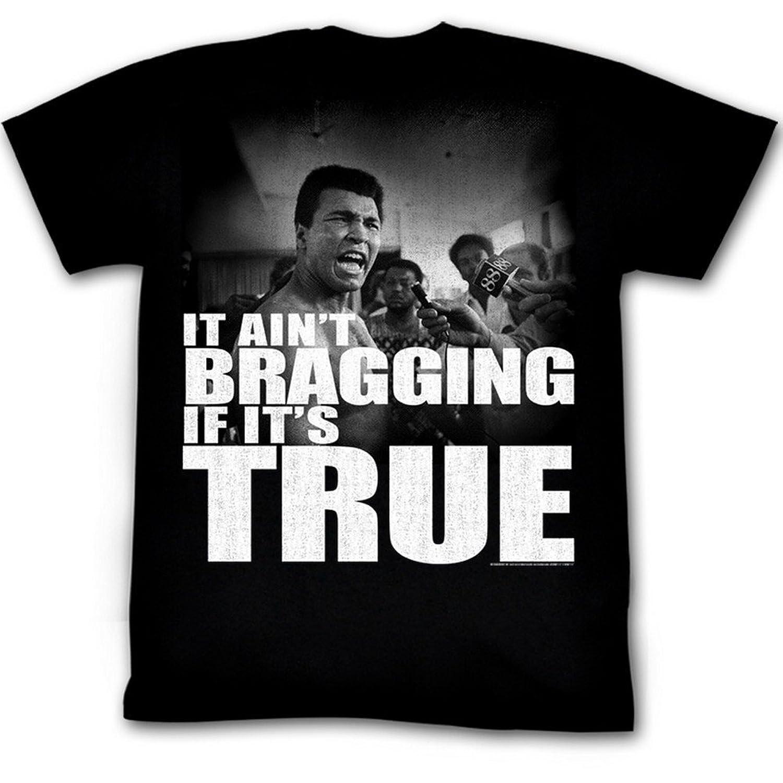 Muhammad Ali - Mens Distressed True T-Shirt In Black