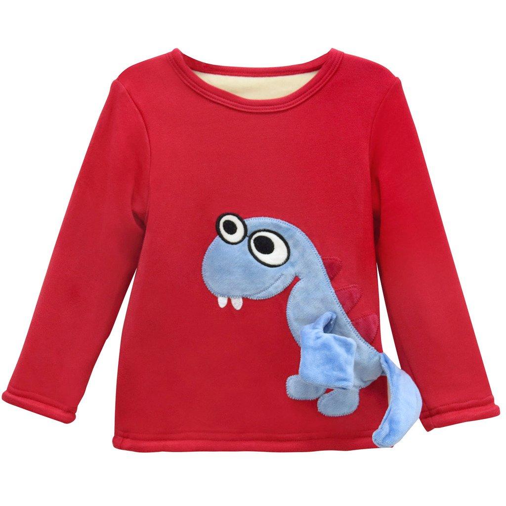 Sudaderas para Niños Bebé Camisetas de Manga Larga Niñas Sweatshirt Tops Vine 1-3 años Vine Trading Co. Ltd B161010WY006213V