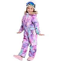Bluemagic Big Kid's One Piece Snowsuits Ski Suits Waterproof Overalls Jackets Snowboarding