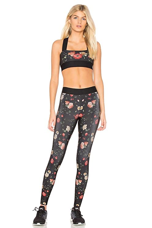 ba9d3558af18c Ultracor Ultra High Botanica Legging Womens Active Workout Yoga Leggings at  Amazon Women's Clothing store: