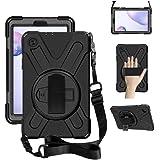 ZenRich Galaxy Tab A 8.4 Case (2020), SM-T307/SM-T307U Case with Kickstand Hand Strap and Shoulder Strap zenrich Heavy…