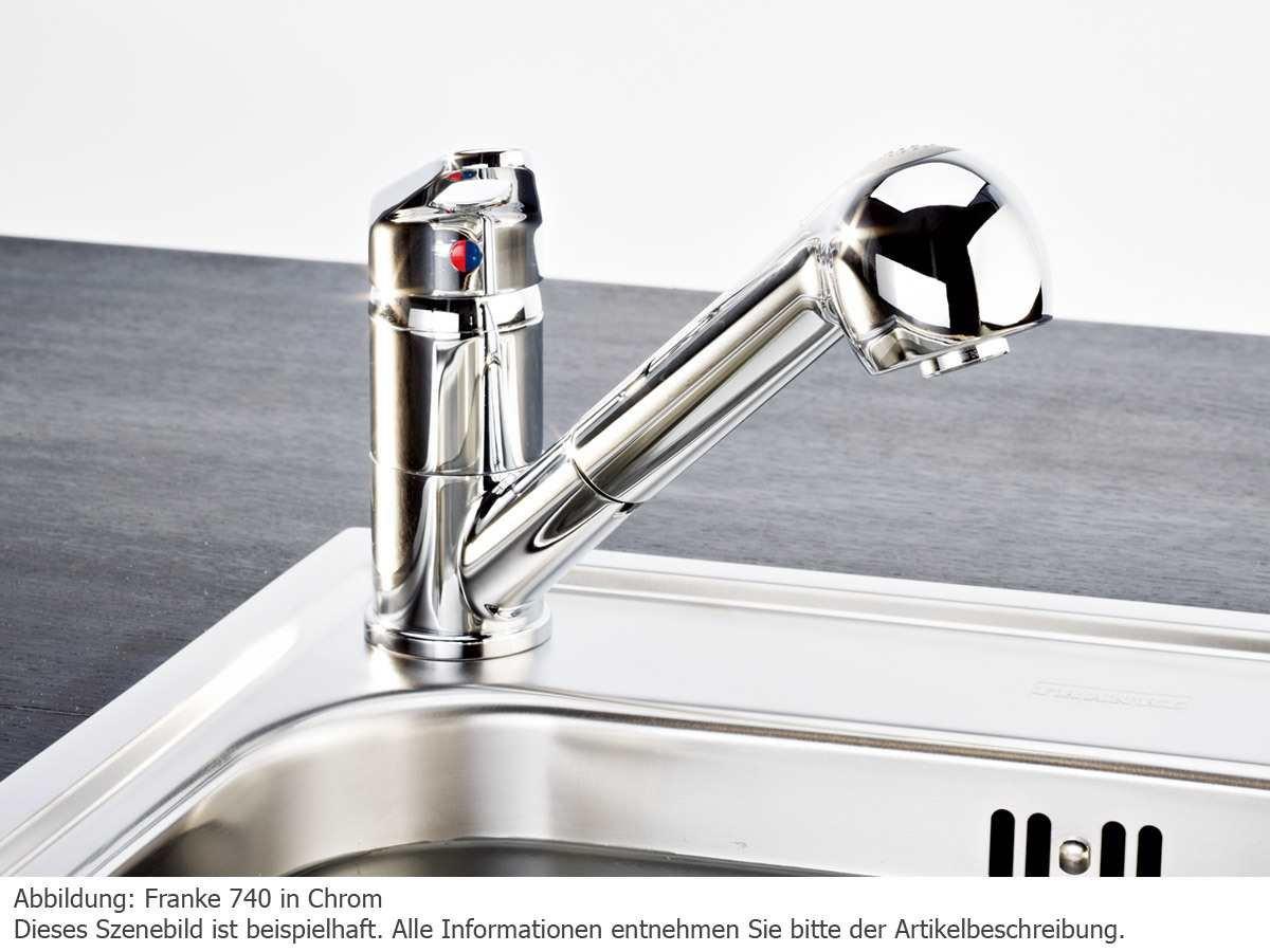 Franke Prince Küchenarmatur Hochdruckarmatur Einhebelmischer ...