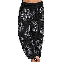 Pantalones Anchos para Mujer Pantalones Streetwear de Verano