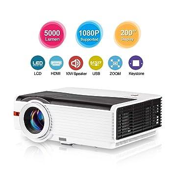 LCD HD de 5000 lúmenes Video Proyector Proyectores ...