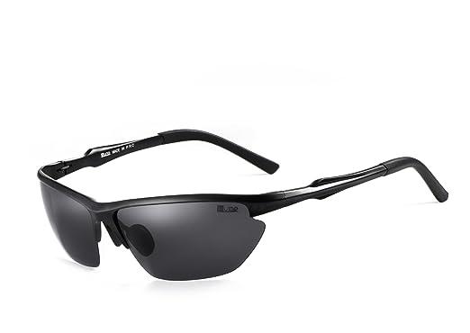 Miuno® Sonnenbrille Polarisiert Sportsonnenbrille Federscharnier Polarized Herren Damen Aluminium XD439 3JSB5F8nrL