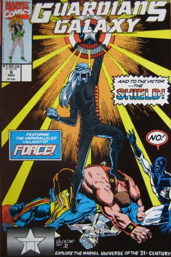 GUARDIANS OF THE GALAXY, #6, November 1990 (Volume 1)