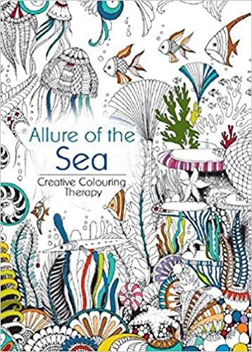 Oceanis Adult And Teen Coloring Book Allure Of The Sea Ocean Nautical Fish Theme Amazon Books