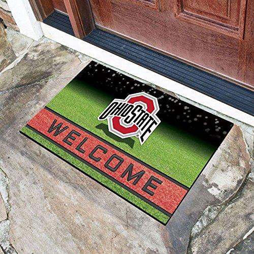 - Crumb Rubber Door Mat Ohio State University 18