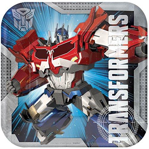 amscan Transformers Dinner Plates (8)