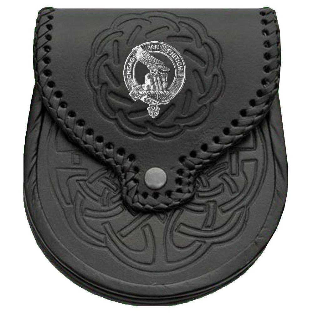 MacDonnell (Glengarry) Scottish Clan Crest Badge Sporran