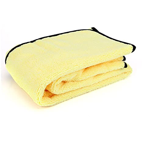 Ndier - Toalla de Microfibra para Limpieza de Coches, Muy Gruesa, de Felpa