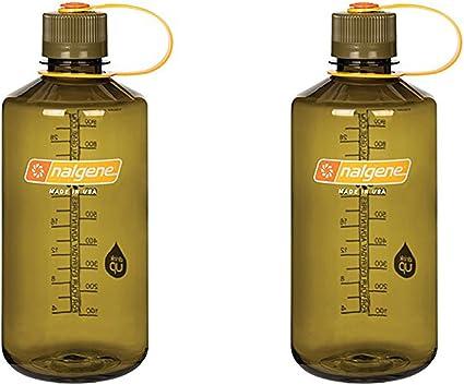 2 Sizes 11 Colors Nalgene Tritan Narrow Mouth BPA-Free Water Bottle