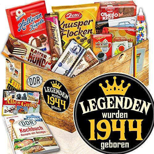Legenden 1944 – DDR Süßigkeiten Box – Geschenkset für Männer